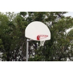 "SportsPlay 3.5"" Adjustable Backstop with Fan - Basketball Equipment"