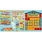 Bb Set School House Calendar