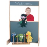 Jonti-Craft Space Saver Multi-Play Screen: Flannel