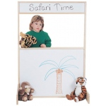 Jonti-Craft Space Saver Multi-Play Screen: Write-N-Wipe