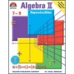 Didax Middle/High School Reproducibles (Algebra II): Grade 7-10