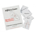 Didax The Algebra Game: Quadratic Equation, Grade 7-12