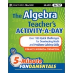 Didax The Algebra Teacher's Activity-A-Day