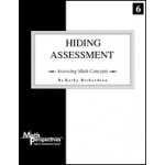 Didax Assessing Math Student Interview Form: Hiding Assessment, Grade K-3