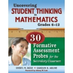 Didax Uncovering Student Thinking In Mathematics: Grade 6-12