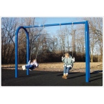 "SportsPlay 5"" OD Arch Post Swing: 4 Seats - Playground Swing Set"