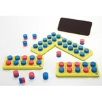 Didax Magnetic Ten-Frame Numeration Board: Grades K+