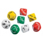 Didax Place Value Dice: Set One, Grades 2-6