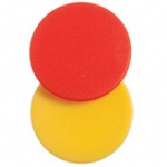 Didax 1000 Plastic Two-Color Counters - Volume Pricing: Grades K-8