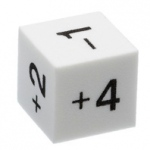 Didax 144 Positive/Negative Dice - Volume Pricing: Grades 3-8