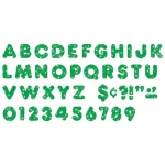 Ready Letters 2 In Casual Green Sparkle