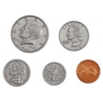 Didax 480 Assorted Coins - Volume Pricing: Grades 1-6