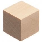 Didax Wooden Cubes - Volume Pricing: Set of 1000 , Grades 1-4