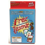 Didax Fractazmic Card Game: Grades 3-6