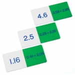 Didax Basic Addition Decimals Dominoes: Grades 4-8