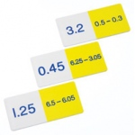 Didax Basic Subtraction Decimals Dominoes: Grades 4-8