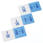 Didax Basic Subtraction Fraction Dominoes: Grades 3-8