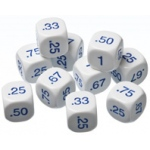Didax Decimal Dice: Set of 10, Grades 3-6