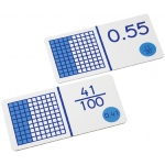 Didax Decimal Fraction Dominoes: Grades 3-8