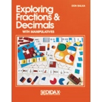 Didax Exploring Fractions & Decimals with Manipulatives: Grades 3-8