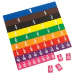 Didax Fraction Tiles with Work Tray: Grades 2-8