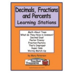 Didax Instant Math Center: Decimals, Fractions & Percents, Grades 5-6
