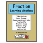 Didax Instant Math Center: Fractions, Grades 3-4