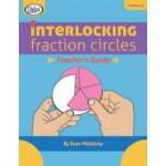 Didax Interlocking Fraction Circles Book: Grades 2-6