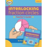 Didax Interlocking Fractions Circles: Classroom Set, Grades 2-6