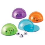 Didax Dice Domes Deluxe: Set of 4, Grades K+