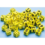 Didax Easyshapes Number Dice: Set of 6, Grades 1-8