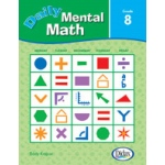Didax Daily Mental Math: Set of 10 Books, Grades 8