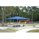 SportsPlay Stand Alone Shade Structure: 12' x 20' - Playground Canopies