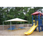 SportsPlay Stand Alone Shade Structure: 18' x 20' - Playground Canopies