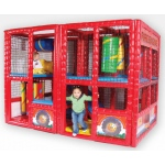 SportsPlay Tot Town Fire Engine - Soft Contained Play : 6' x 6.5' x 9.25'
