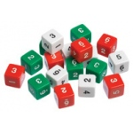 Didax 144 Number Dice - Volume Pricing: Grades 1-8