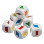 Didax 30 Pattern Block Dice - Volume Pricing: Grades K-8