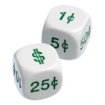 Didax 50 Money Dice - Volume Pricing: Grades K-3