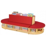 Jonti-Craft Read-a-Round: 3 Piece Set, Red