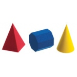 Didax 60 Foam Geometric Models - Volume Pricing: Grades K-8