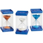 Didax Giant Sand Timers, Set of 3: Grades K-12