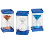 Didax Giant Sand Timers, Set of 6: Grades K-12