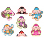 Color Monkeys Accents Standard Size Variety Pack