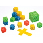 Didax Omnifix Cube: Set of 1000, Grades 3-12