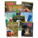 Didax Data Analysis & Probability Reader: Set of 8 books, Grades 3-5