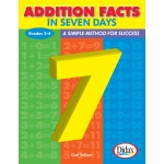 Didax Addition Facts in 7 Days: Grades 2-4