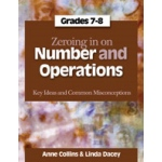 Didax Zeroing in On Numbers & Operations: Grades 7-8