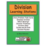 Didax Division Learning Stations Instant Math Center: Grades 3-4
