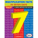 Didax Multiplication Facts in 7 Days: Grades 3-5