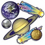 Accent Punch-Outs Solar System 93 Pcs Mini Bb Set